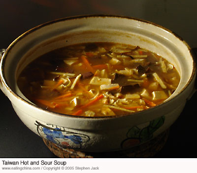 Taiwan Hot and Sour Soup