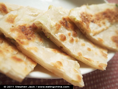 Chinese Scallion flatbread